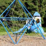 Klettergerüst des angrenzenden Spielplatzes des Campinos